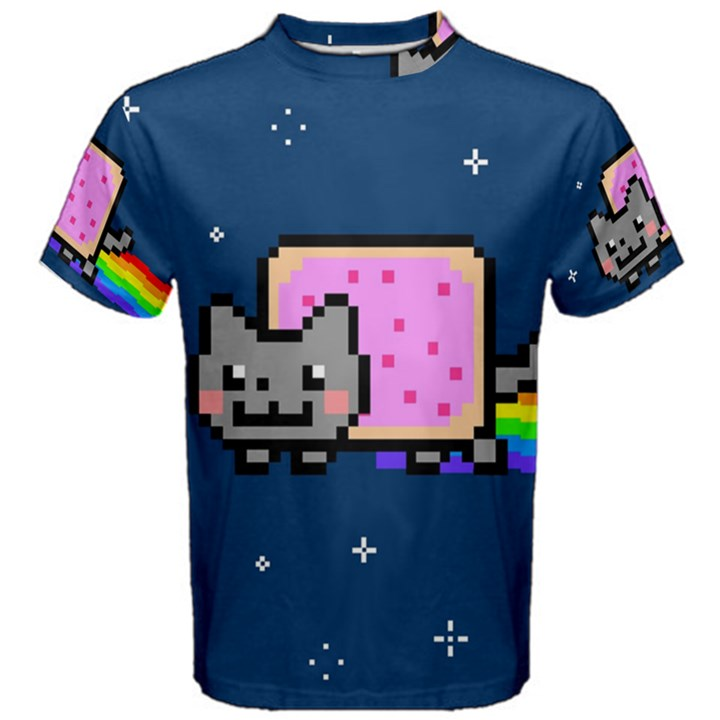 Nyan Cat Men s Cotton Tee