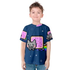 Nyan Cat Kids  Cotton Tee