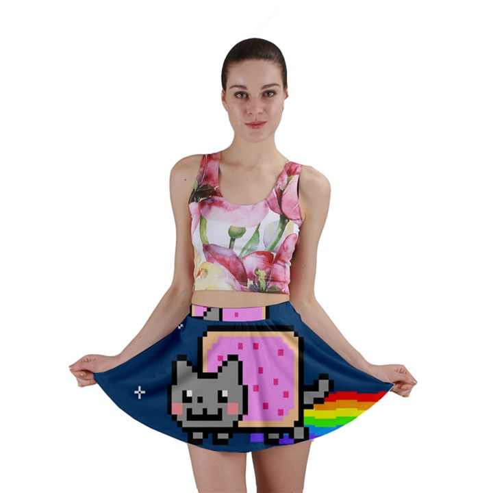 Nyan Cat Mini Skirt