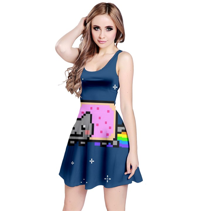 Nyan Cat Reversible Sleeveless Dress