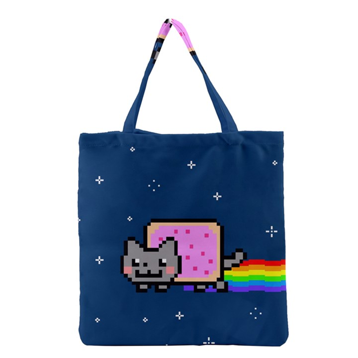 Nyan Cat Grocery Tote Bag