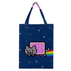 Nyan Cat Classic Tote Bag