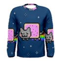 Nyan Cat Men s Long Sleeve Tee View1