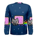 Nyan Cat Men s Long Sleeve Tee View2