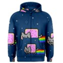 Nyan Cat Men s Zipper Hoodie View1