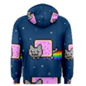 Nyan Cat Men s Zipper Hoodie View2
