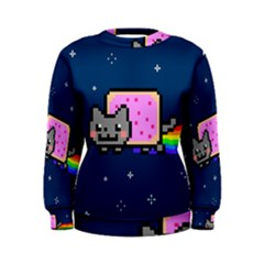 Nyan Cat Women s Sweatshirt