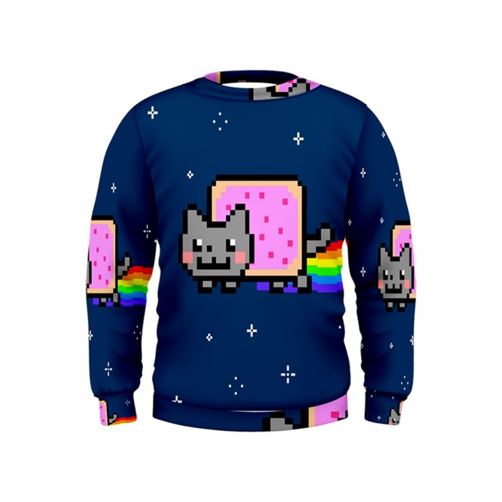 Nyan Cat Kids  Sweatshirt