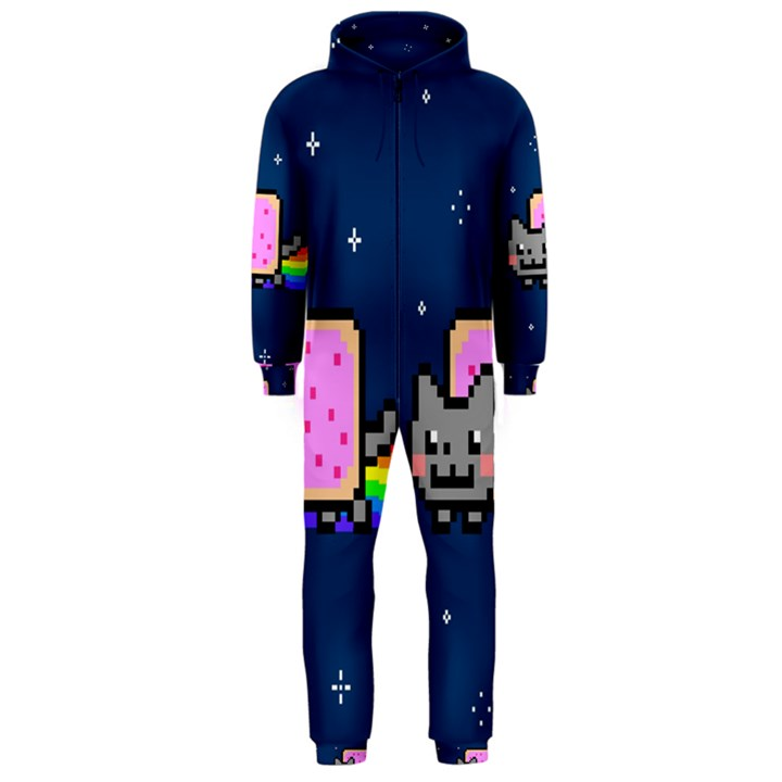 Nyan Cat Hooded Jumpsuit (Men)