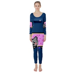 Nyan Cat Long Sleeve Catsuit
