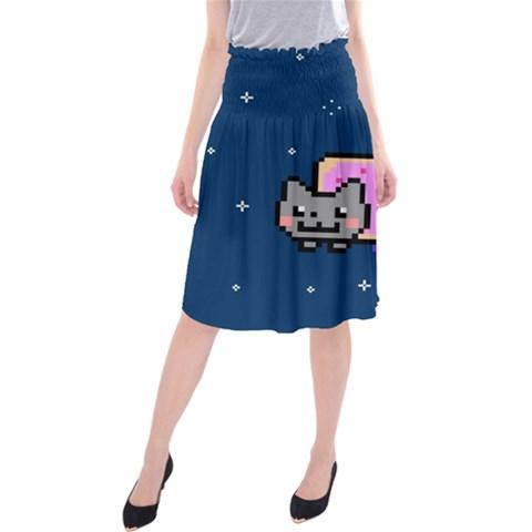 Nyan Cat Midi Beach Skirt