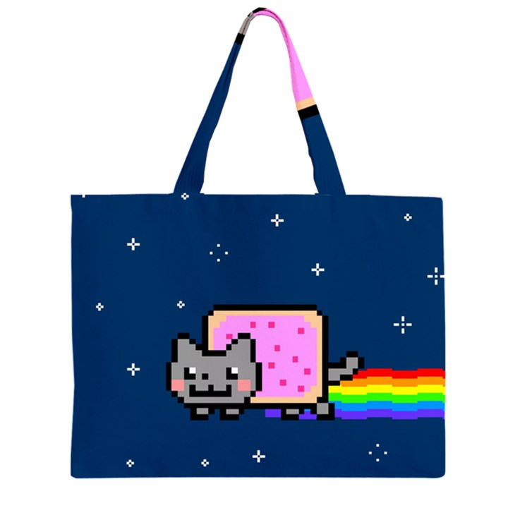 Nyan Cat Large Tote Bag