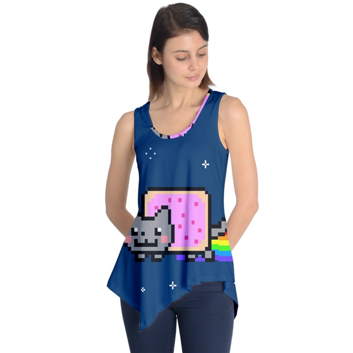 Nyan Cat Sleeveless Tunic