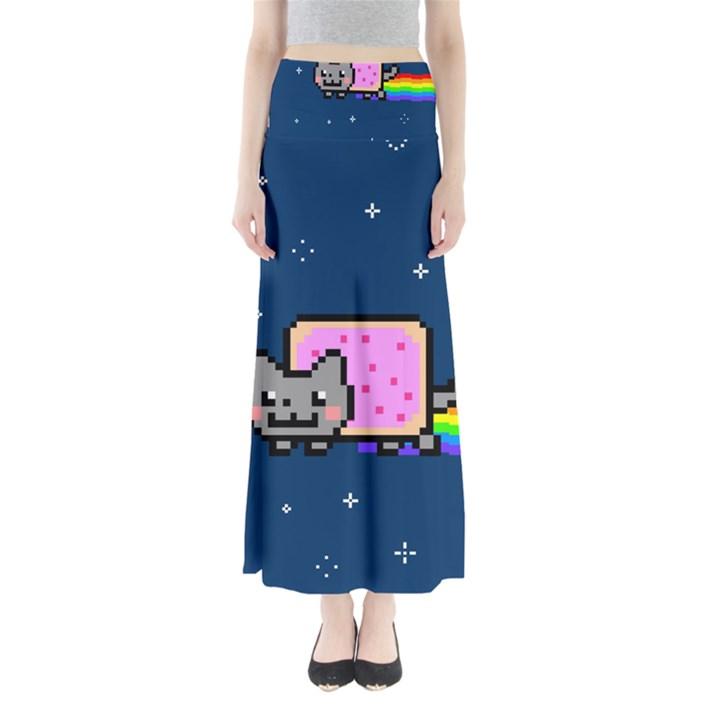 Nyan Cat Maxi Skirts