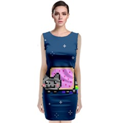 Nyan Cat Classic Sleeveless Midi Dress