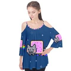 Nyan Cat Flutter Tees