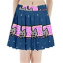 Nyan Cat Pleated Mini Skirt View1