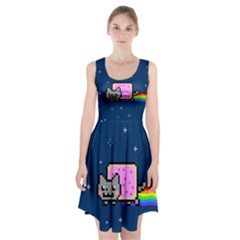 Nyan Cat Racerback Midi Dress