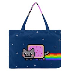 Nyan Cat Medium Zipper Tote Bag