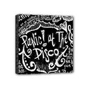 Panic ! At The Disco Lyric Quotes Mini Canvas 4  x 4  View1