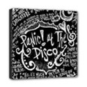 Panic ! At The Disco Lyric Quotes Mini Canvas 8  x 8  View1