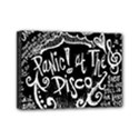 Panic ! At The Disco Lyric Quotes Mini Canvas 7  x 5  View1