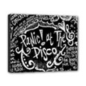 Panic ! At The Disco Lyric Quotes Canvas 10  x 8  View1