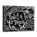Panic ! At The Disco Lyric Quotes Canvas 14  x 11  View1