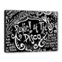 Panic ! At The Disco Lyric Quotes Canvas 16  x 12  View1