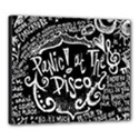 Panic ! At The Disco Lyric Quotes Canvas 24  x 20  View1