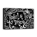 Panic ! At The Disco Lyric Quotes Deluxe Canvas 18  x 12   View1