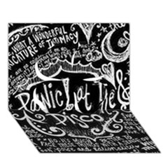 Panic ! At The Disco Lyric Quotes Clover 3d Greeting Card (7x5)