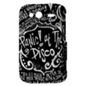 Panic ! At The Disco Lyric Quotes HTC Wildfire S A510e Hardshell Case View3