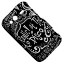 Panic ! At The Disco Lyric Quotes HTC Wildfire S A510e Hardshell Case View5