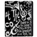 Panic ! At The Disco Lyric Quotes Apple iPad 2 Flip Case View1