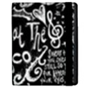 Panic ! At The Disco Lyric Quotes Apple iPad 2 Flip Case View2