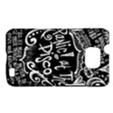 Panic ! At The Disco Lyric Quotes Samsung Galaxy S II i9100 Hardshell Case (PC+Silicone) View1