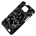 Panic ! At The Disco Lyric Quotes Samsung Galaxy S II i9100 Hardshell Case (PC+Silicone) View4