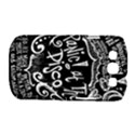 Panic ! At The Disco Lyric Quotes Samsung Galaxy S III Classic Hardshell Case (PC+Silicone) View1