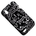 Panic ! At The Disco Lyric Quotes HTC Desire V (T328W) Hardshell Case View5