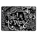 Panic ! At The Disco Lyric Quotes Samsung Galaxy Tab 10.1  P7500 Flip Case View1