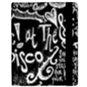 Panic ! At The Disco Lyric Quotes Samsung Galaxy Tab 8.9  P7300 Flip Case View2