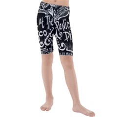 Panic ! At The Disco Lyric Quotes Kids  Mid Length Swim Shorts