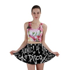 Panic ! At The Disco Lyric Quotes Mini Skirt