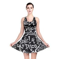 Panic ! At The Disco Lyric Quotes Reversible Skater Dress