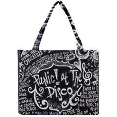 Panic ! At The Disco Lyric Quotes Mini Tote Bag