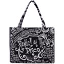 Panic ! At The Disco Lyric Quotes Mini Tote Bag View1