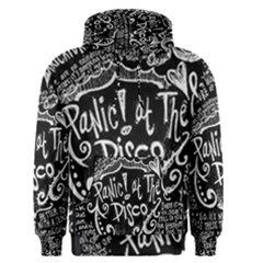 Panic ! At The Disco Lyric Quotes Men s Pullover Hoodie