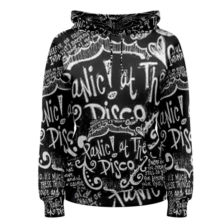 Panic ! At The Disco Lyric Quotes Women s Pullover Hoodie