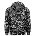Panic ! At The Disco Lyric Quotes Men s Zipper Hoodie View2
